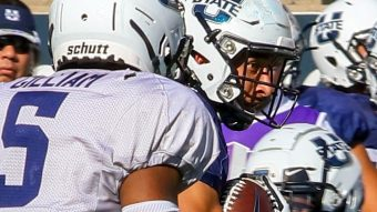 the best attitude c0ec8 f13c3 Five names to watch for after USU's Aggie Football Family ...