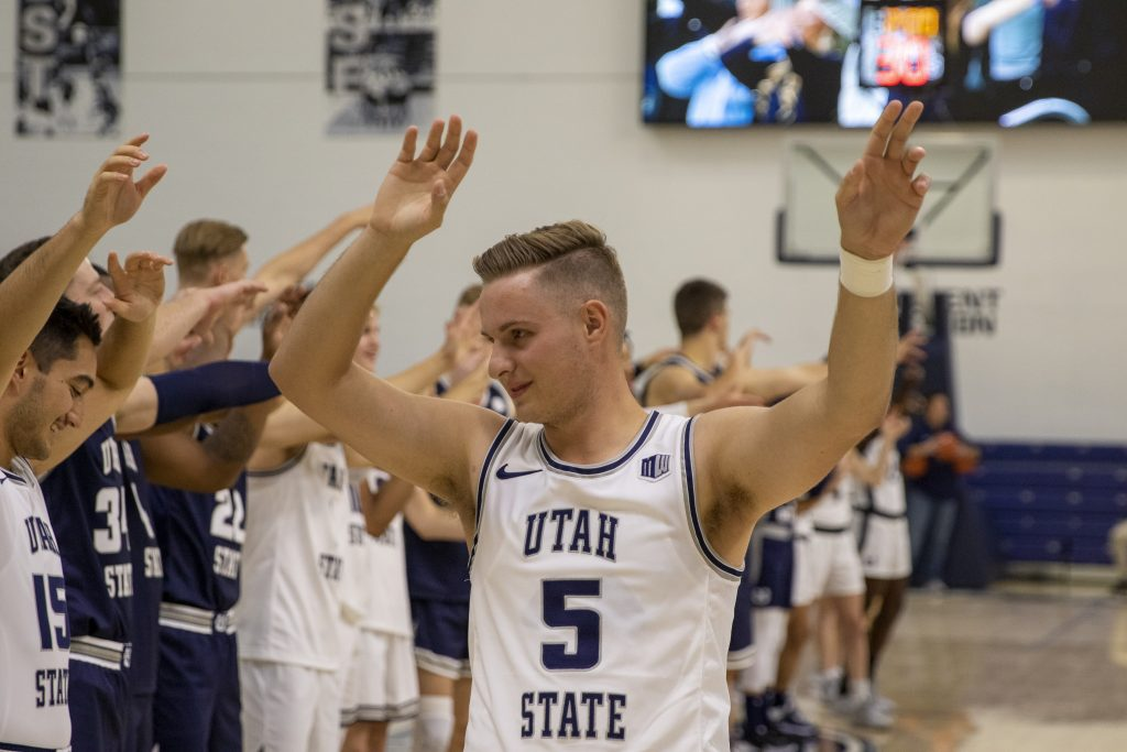 Game times announced for USU men's basketball games in Jamaica, Houston and California