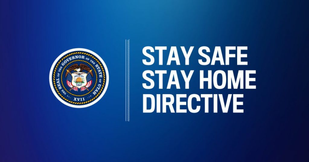 Gov. Herbert asks Utahns to stay home, follow directive