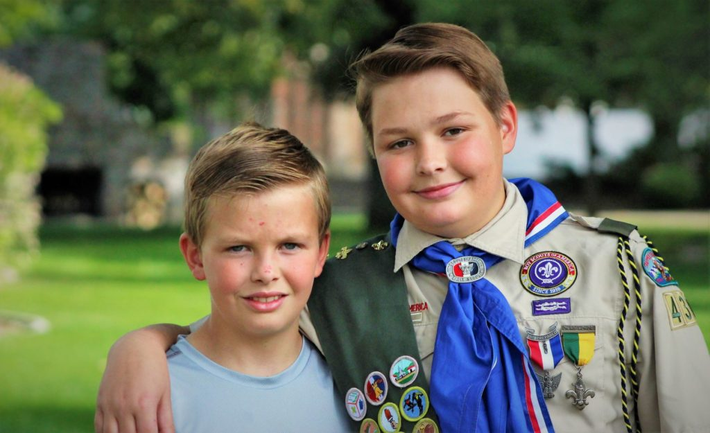 Providence Boy Scout to receive the prestigious Medal of Merit
