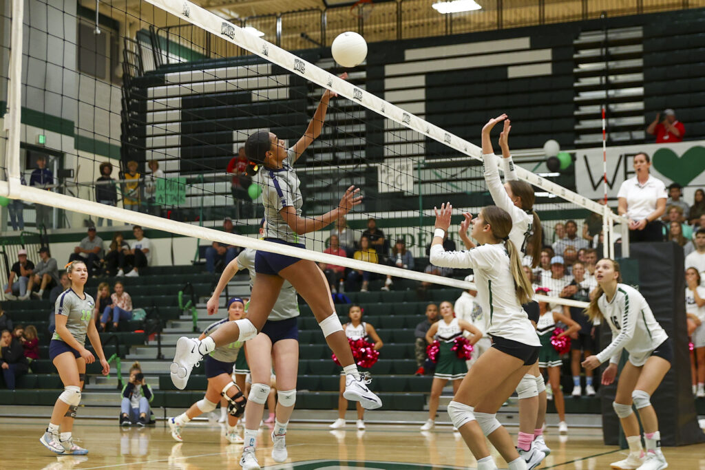 PHOTO GALLERY: Ridgeline volleyball defeats Green Canyon 3 sets to 0